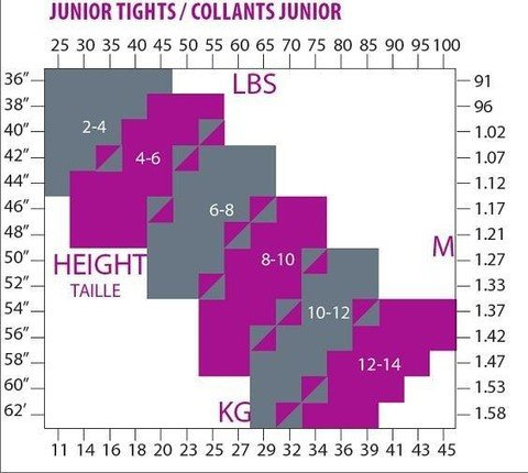 Mondor 3396 Over the Boot Tight Youth 4//6 4