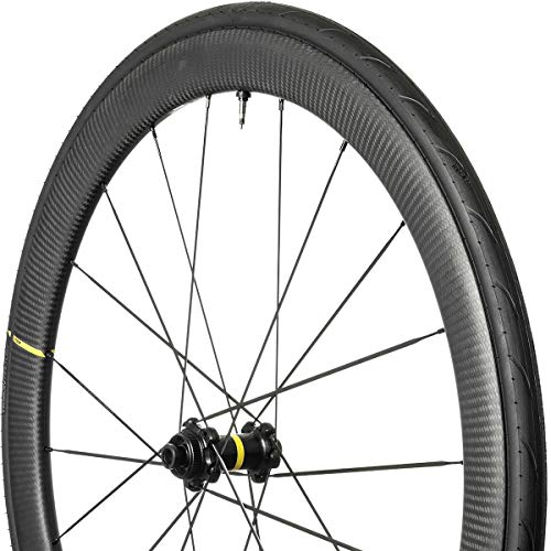 Mavic Cosmic Pro Carbon SL UST Disc Wheel Black, Front, 12x100, CL