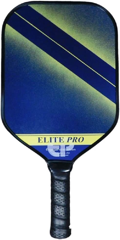 Engage Elite Pro Pickleball Paddle | USAPA Approved | Textured ChemTEK Fiberglass Face & ControlPRO Polymer Core