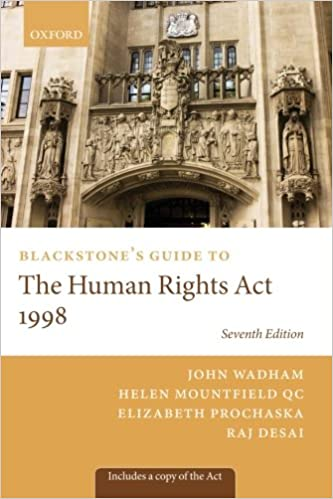 Blackstone's guide to the human rights act 1998 (blackstone's.