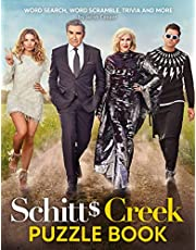 Schitt's Creek Puzzle Book: An Amazing Gift For Those Who Love Schitt's Creek. A Way To Entertain With Lots Of Activities