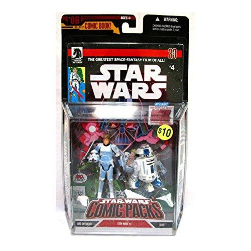 Expanded Universe Luke Skywalker - Hasbro Star Wars 3.75 Expanded Universe Luke Skywalker & R2-D2