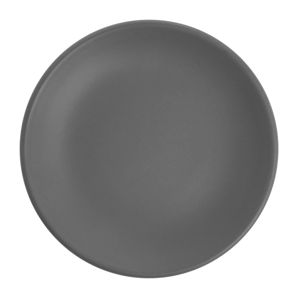 World Driftstone Granite Porcelain Coupe Plate - 6''Dia