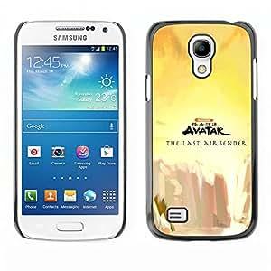 Caucho caso de Shell duro de la cubierta de accesorios de protección BY RAYDREAMMM - Samsung Galaxy S4 Mini i9190 - Last Airbender