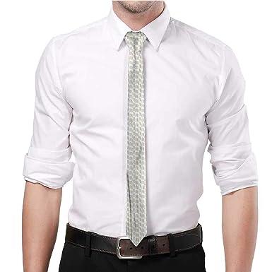 YEYUXIANGLAN Hojas de corbata a rayas, diseño de follaje para ...