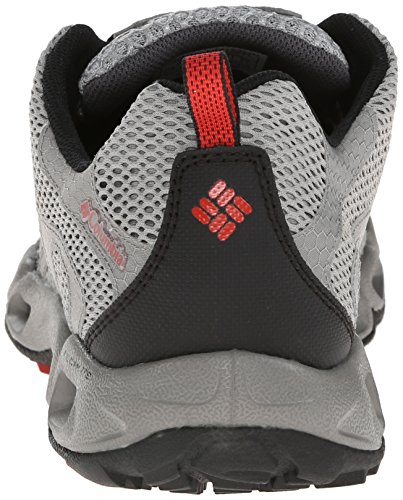 Columbia Ventastic, Zapatillas de Deporte Exterior para Hombre Platinum/Sail Red