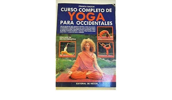 Yoga (curso completo para occidentales): Amazon.es: Sacchi ...