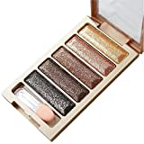 Xiahbong 5/35/12 Color Glitter Eyeshadow Makeup Professional Nudes Warm Neutral Eye Shadow Palett