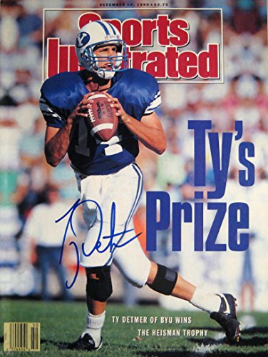 Detmer  Ty 12 10 90 Autographed Magazine