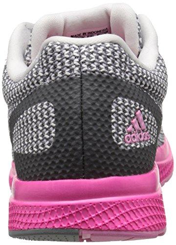 adidas Performance Womens Mana Bounce Running Shoe Vista Grey/White/Shock Pink ePAip5Q1