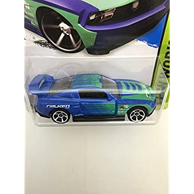 Hot Wheels, 2015 HW Workshop, Custom '12 Ford Mustang [Blue] #240/250: Toys & Games