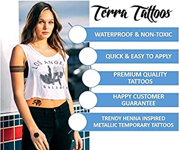 Mandala Henna Tattoo Women/'s High Neck Sleeveless Crop Top