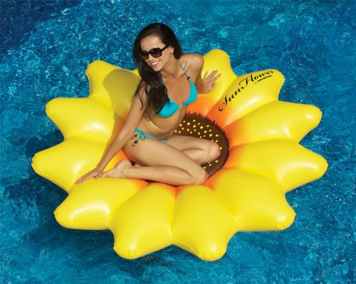 Swimline Sunflower Pool Float -