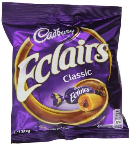 Cadbury Eclairs Classic. British 130g