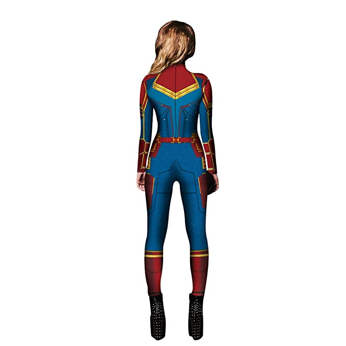 49804350bd1 Amazon.com  Captain Marvel Costume