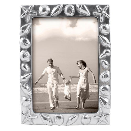Mariposa Shell (The original SHELLS BORDER frame for 5x7 prints crafted by Mariposa - 5x7)