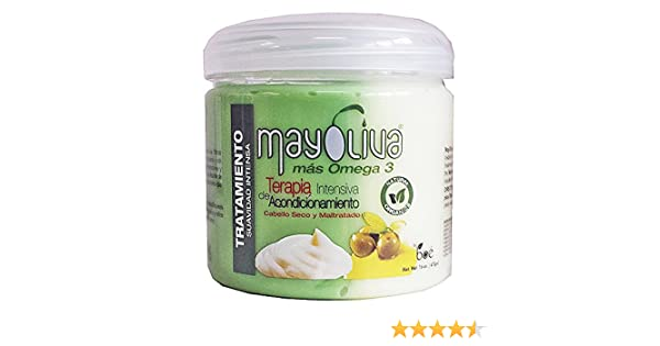 Boe Crece Pelo Mayolive Mas Omega 3 Hair Treatment 16 Oz (One pack) by Boe Mayoliva : Beauty