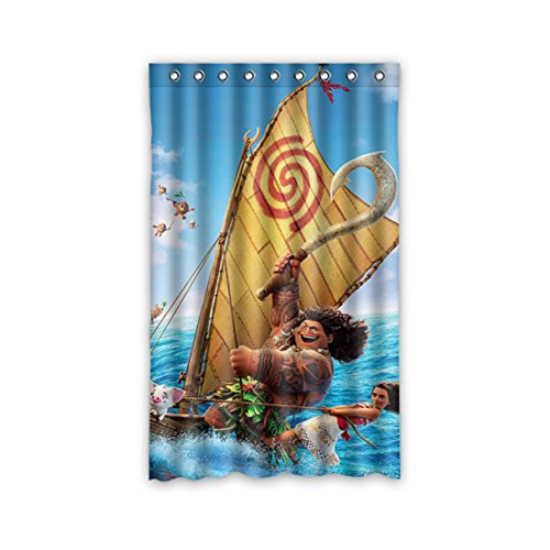 Disney Moana Voyager Colorful Curtain