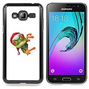 Stuss Case / Funda Carcasa protectora - Ayudante del duende de Navidad de invierno - Samsung Galaxy J3 GSM-J300