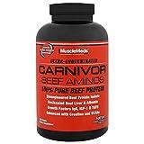 Aminoacidos MuscleMeds Carnivor Beef Aminos 300 Tabletas