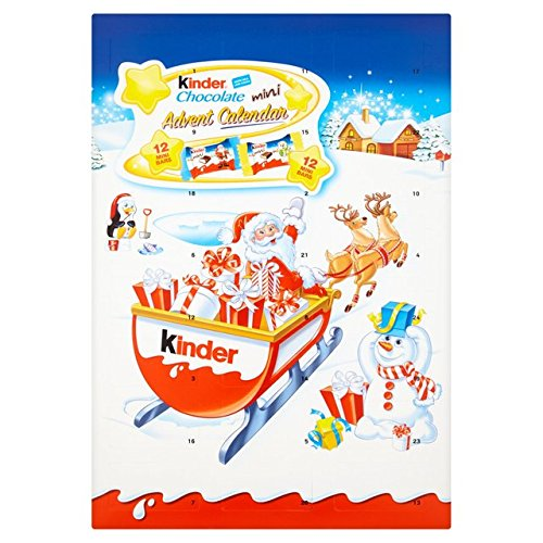 Kinder Chocolate Advent Calendar 135g