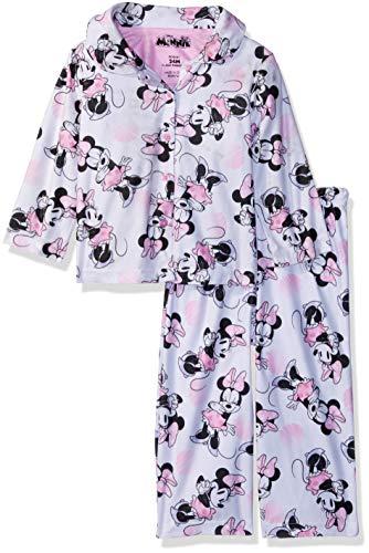 2 Piece Coat Pajamas - Disney Baby Girls Minnie Mouse 2-Piece Pajama Coat Set, Playful Pinks, 12M