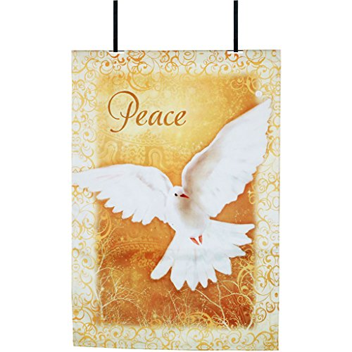 Premier 52579 Fiber Optic Flag, Heavenly Peace, 28 by 40-Inch]()