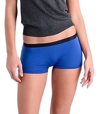 Comfortable Club Women's Modal Microfiber Boyshorts Panties Underwear