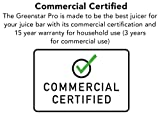 Tribest Greenstar Pro Commercial Cold Press