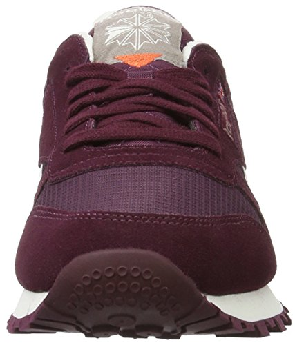 Reebok Herren Classic Leather Camp Low-Top Blau (mystic Maroon/maroon)