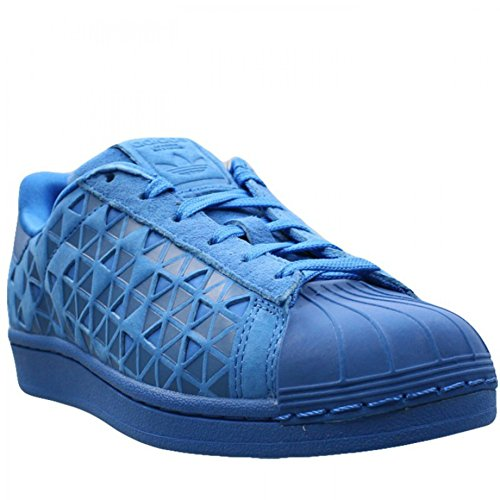 adidas Originals Kinder Superstar Sneaker (großes Kind / kleines Kind / Kleinkind / Kleinkind) Blaues Xeno reflektierend