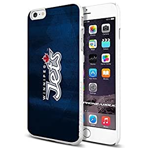 diy zhengNHL HOCKEY Winnipeg Jets Logo, , Cool Ipod Touch 5 5th Smartphone Case Cover Collector iphone TPU Rubber Case White [By PhoneAholic]