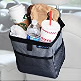 Automotive : MyTidyCar Car Trash Can - Premium with Pockets & Waterproof Litter Garbage Bag - Large