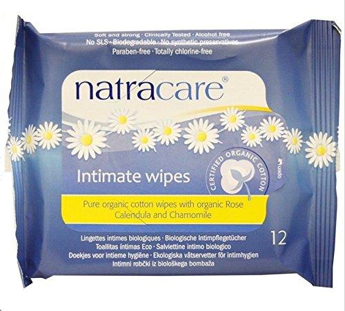 Natracare Cotton Organic Feminine Wipes - 1