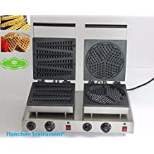 Hanchen Instrument NP-561 Commerical Use Lolly Waffle Maker&Heart-Shaped Waffle Maker Waffle Maker Waffle Baker Waffle Toaster Maker (220V)