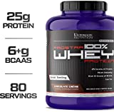 Ultimate Nutrition PROSTAR 100% Whey Protein Powder - Low Carb, Keto Friendly - 80 Servings, Chocolate Crme, 5.28 Pounds
