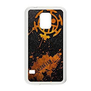 Special Design Cases Gmnpdy Samsung Galaxy S5 Mini White Trafalgar Law Durable Rubber Cover