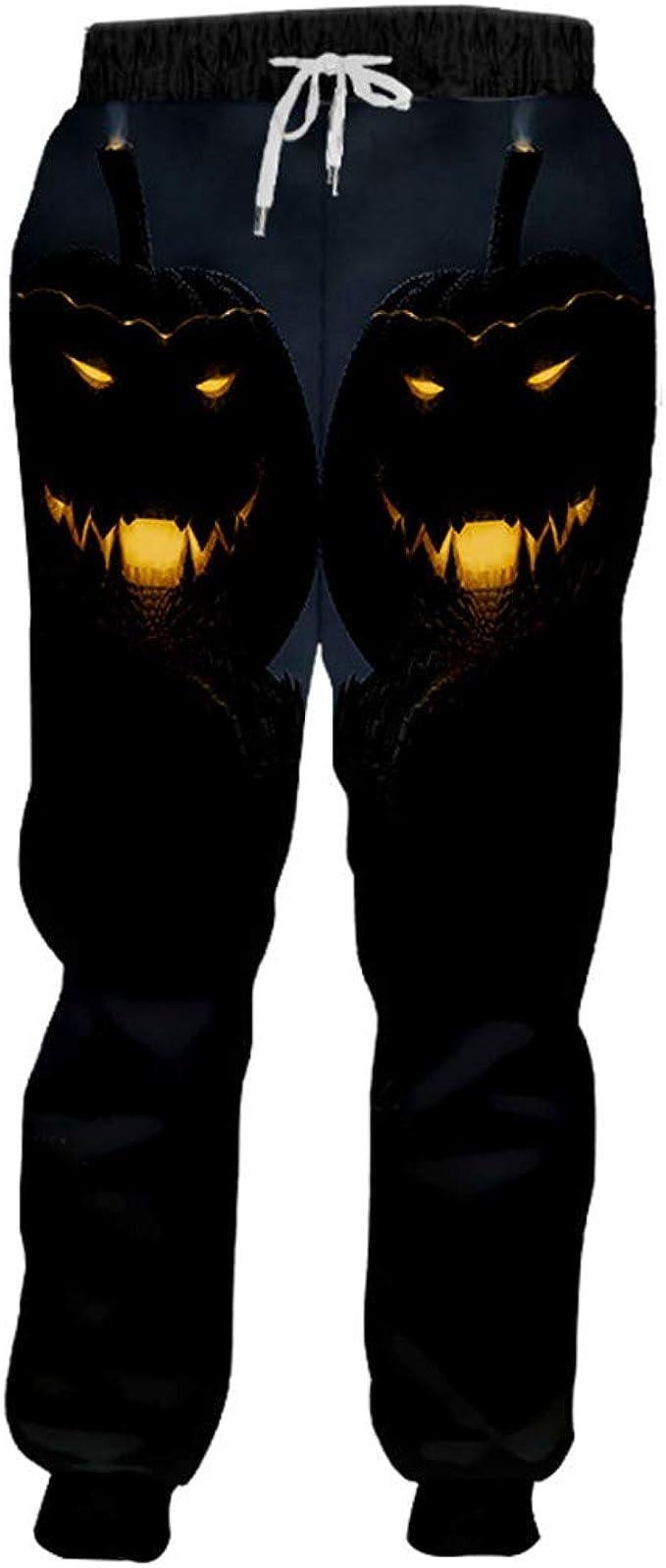 SenTenos Pantalones de Spandex para Hombre Pantalones de chándal ...