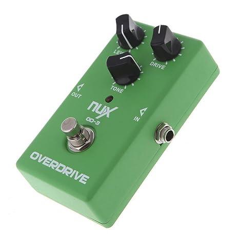 NUX Pedal de efectos de Guitarra Vintage Overdrive (OD-3)