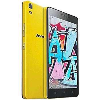 Lenovo Lemon K3 Note 5.5 inch IPS Screen 4G Android OS 5.0 Smart Phone, MT6752 Octa Core 1.7GHz, RAM: 2GB, RAM: 16GB, Dual SIM WCDMA & GSM (yellow)