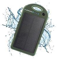 Solar Charger 10000mAh , X-DNENG Portabl...