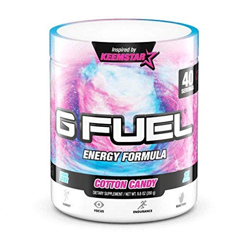 G Fuel Cotton Candy Tub (40 Servings) Elite Energy and Endurance Formula 9.8 oz. by G Fuel (Image #7)