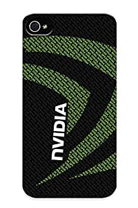Premium Snap-on Nvidia Case For Iphone 4/4s Series