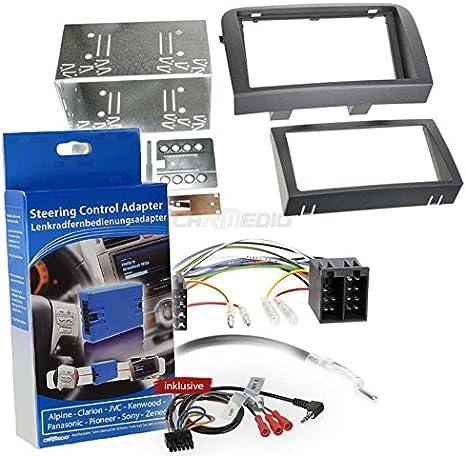 Fiat Croma 05 Double Din Car Radio Installation Kit Elektronik