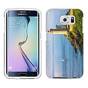 Samsung Galaxy S6 Case, Snap On Cover by Trek Lighthouse Case