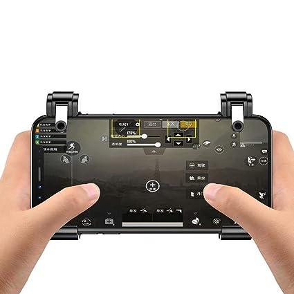 Amazon com: ZZRH Shooting Controller Pubg Mobile L1 r1 Phone