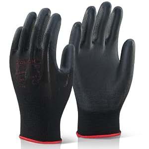 10 pares bestdeal recubierto guantes de trabajo talla 7 (S - pequeña). Ideal para bricolaje, jardinería, taller, garajes y profesionales - Viene con TCH antibacteriales lapicera!