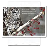 New Year Cards-Hope 10 Cards & Env Made in USA by CroninCards