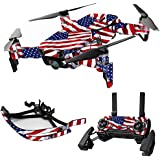 MightySkins Skin For DJI Max Coverage - Patriot | Protective, Durable, and Unique Vinyl Decal wrap cover | Easy To Apply, Remove, and Change Styles | Made in the USA