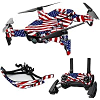MightySkins Skin for DJI Mavic Air Drone - Patriot | Max Combo Protective, Durable, and Unique Vinyl Decal wrap cover | Easy To Apply, Remove, and Change Styles | Made in the USA